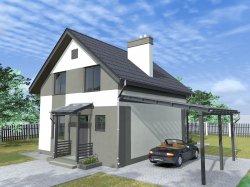 Дом в Буче с максимальным энергосбережением